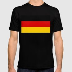 National flag of Germany - Authentic version Mens Fitted Tee SMALL Black