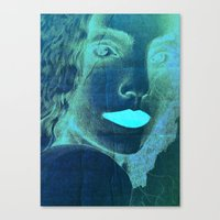 Yael The Warrier Of Peac… Canvas Print