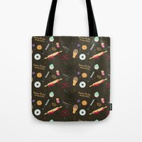 Die Hard Desserts Tote Bag