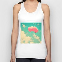 Balloons In The Sky (pin… Unisex Tank Top