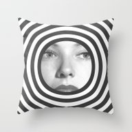 No Help From Reality Throw Pillow