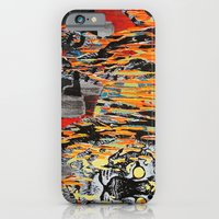 iPhone & iPod Case featuring Tiger At Night by Creative Cat's Studio - Tricia W. Beal