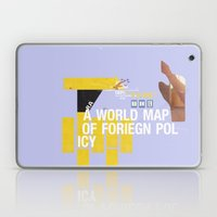 A World Map Of Foreign P… Laptop & iPad Skin