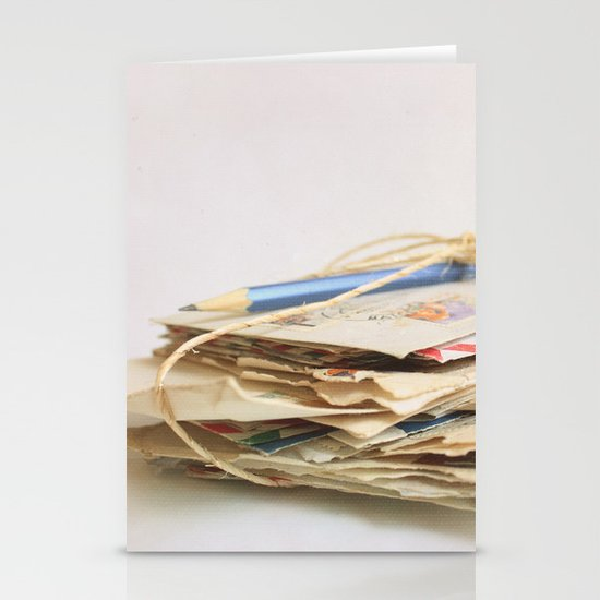 All The Letters That I Wrote To You IV Stationery Card