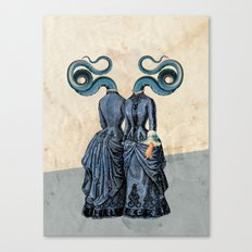 Dressed to kiss! Canvas Print