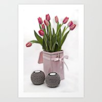 Tulips for Mothersday Art Print