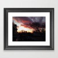 Burner Framed Art Print