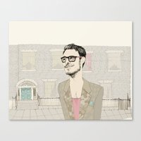I´m Hipster  Canvas Print