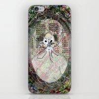 Gas Mask Mama iPhone & iPod Skin