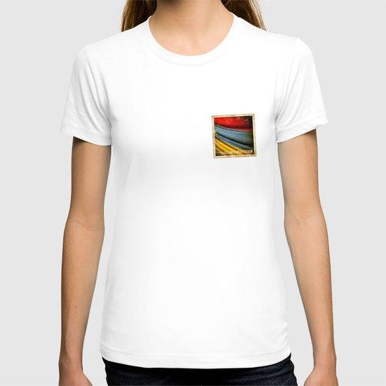 Grunge sticker of Armenia flag T-shirt