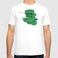 Frankenderp Mens Fitted Tee White SMALL