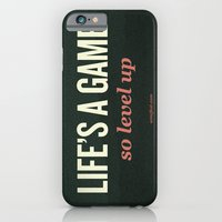 Life's a Game, so level up. iPhone 6 Slim Case