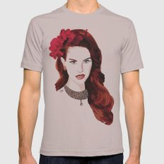 LDR Mens Fitted Tee Cinder SMALL