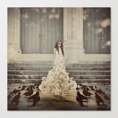 Bridal Portrait Canvas Print