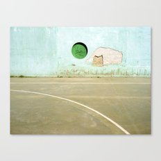 Barcelona Court Canvas Print