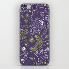 Floating Heads (Halloween Edition) iPhone & iPod Skin