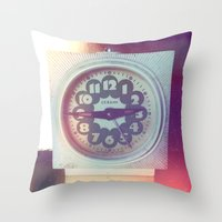 Soviet Vintage Throw Pillow
