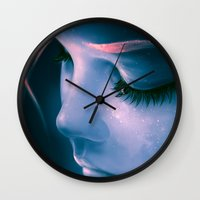 Focus On Yourself Wall Clock