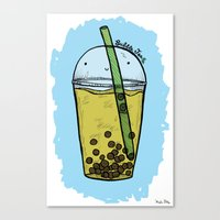 Bubble Tea Canvas Print