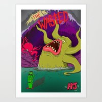 The Wasted  Art Print