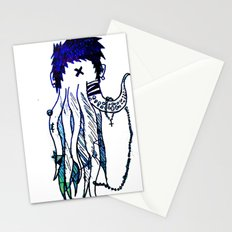 Tentacle X Stationery Cards