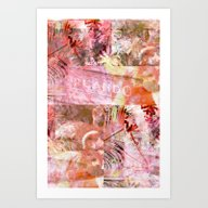 Orlando In The Pink Art Print