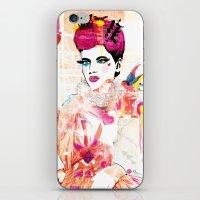 La Queen De Dimanche / T… iPhone & iPod Skin