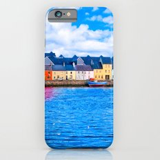 View Of The Long Walk From The Claddagh - Galway Ireland iPhone 6 Slim Case