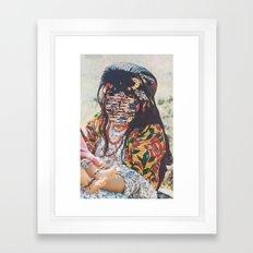 Looping State Of Mind Framed Art Print