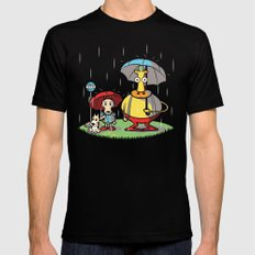 My Friend Hef SMALL Mens Fitted Tee Black