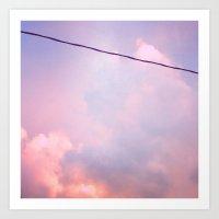 Sunset Clouds (II) Art Print