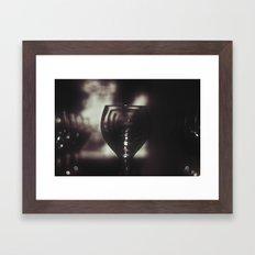 Wineglass Framed Art Print