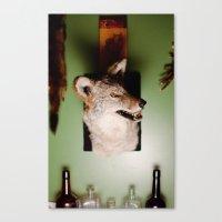'Yote Canvas Print
