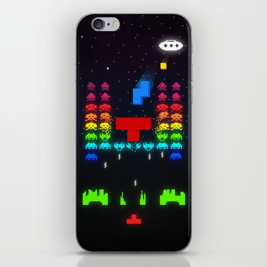 INVATRIS : The reinforcements arrived! iPhone & iPod Skin