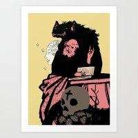 Black Magic #2 Art Print