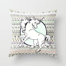 Unicorn Party Throw Pillow