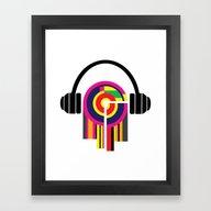 Eclectic Music Framed Art Print