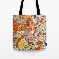 Milk & Blood Tote Bag