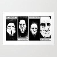 Hate Yourself Art Print