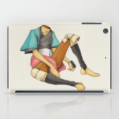 When I Was Little, My Father Was Famous. (No type) iPad Case