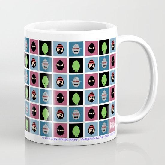 Robot Ninja Cthulhu Pirate Mug