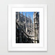 Milan Duomo Framed Art Print