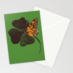 By Chance - Green Stationery Cards
