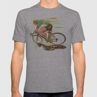 The Sprinter, Cycling Ed… Mens Fitted Tee Athletic Grey SMALL