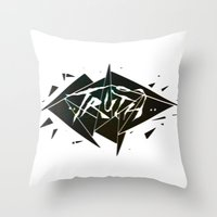 Truth Throw Pillow