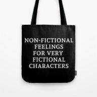 Non-Fictional Feelings F… Tote Bag
