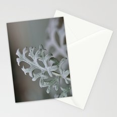 Silver Brocade Stationery Cards