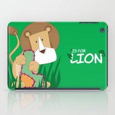 L is for Lion.. iPad Case