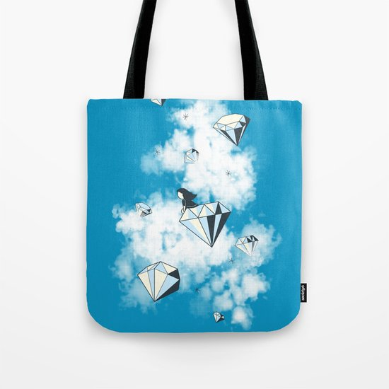 Like a Diamond in the Sky Tote Bag