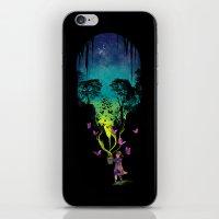 THE FORBIDDEN BUTTERFLIES iPhone & iPod Skin